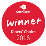 Ginny Lane Diners Choice Award