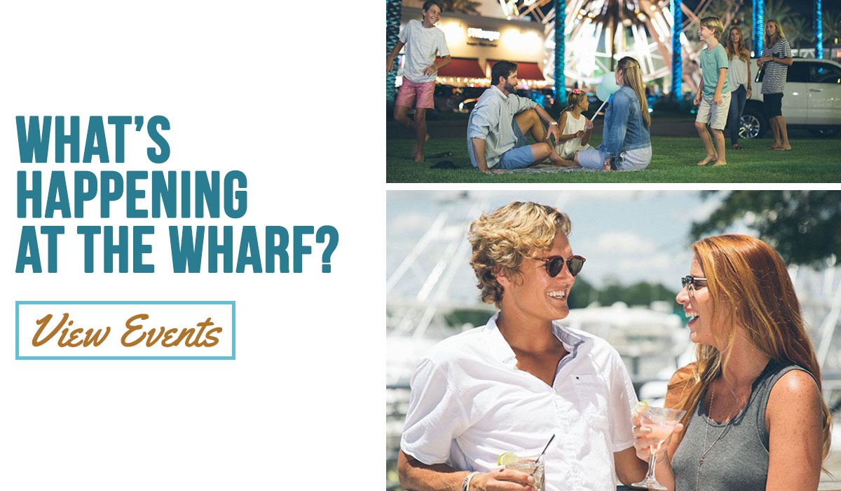 Upcoming events at The Wharf